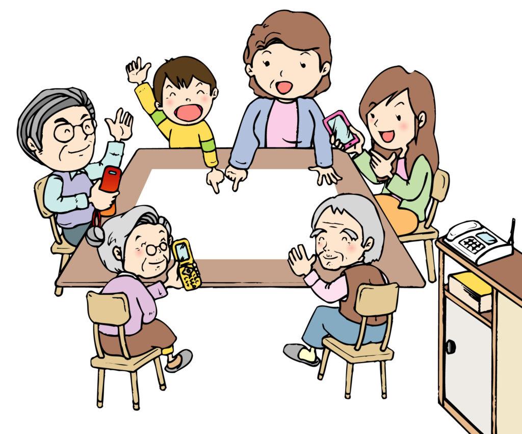 ワイモバイルは最大9回線まで家族割が適応されます。大家族でも安心して加入することが出来ます。
